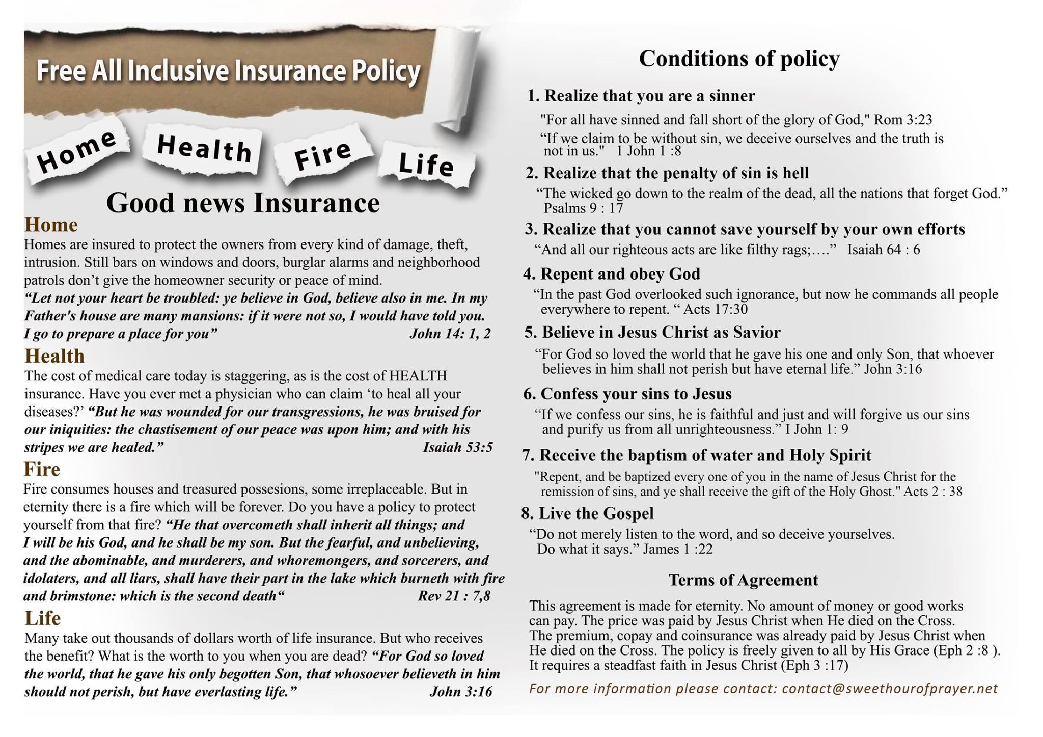 Good news Insurance