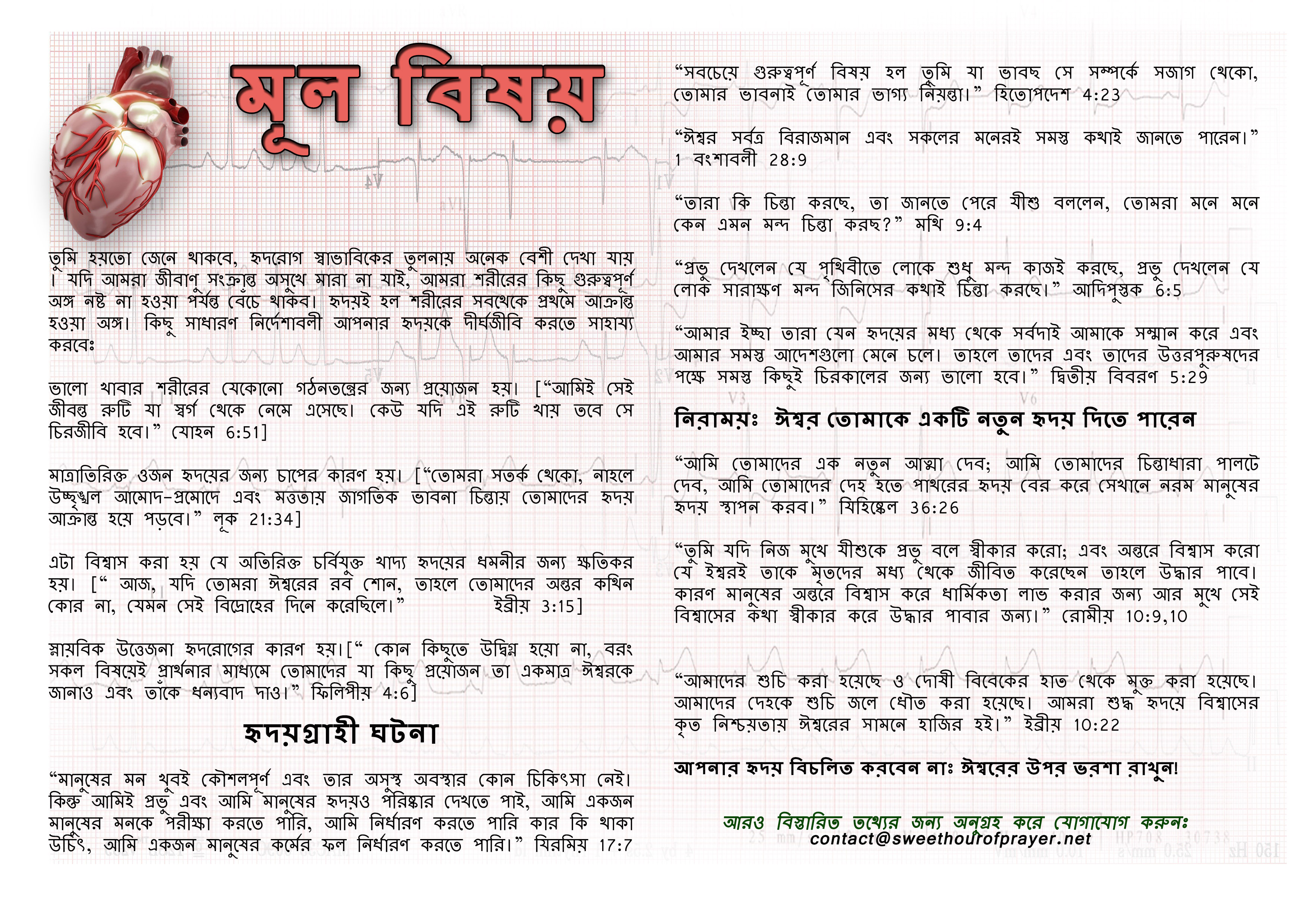 Heart of the matter bengali