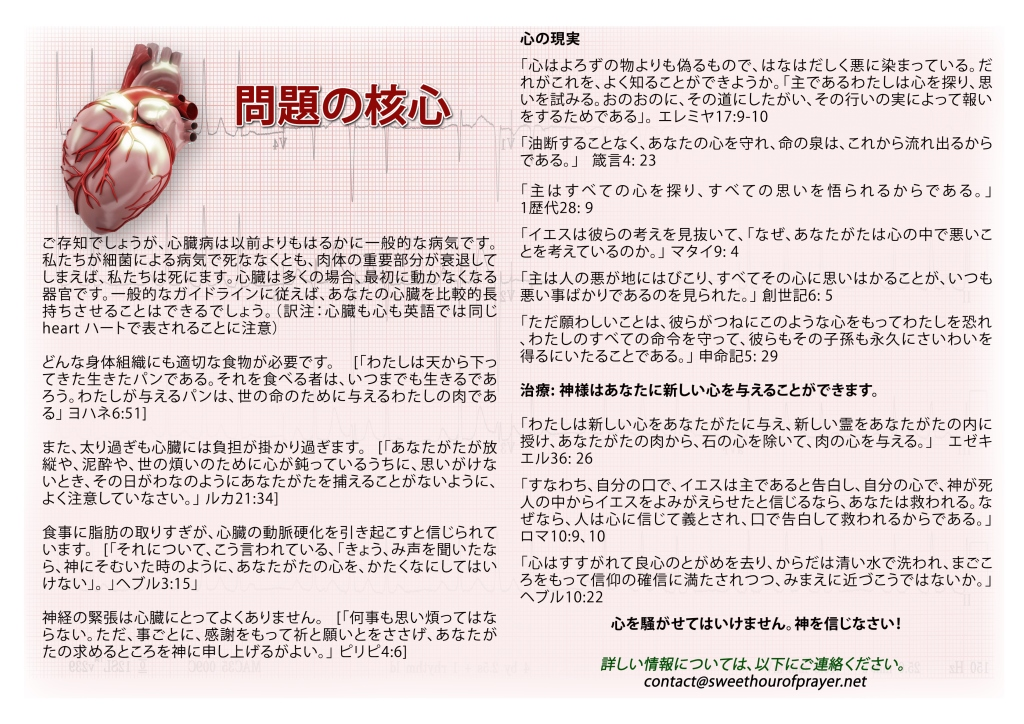 Heart of the matter_japanese