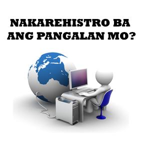 Nakarehistro ba ang pangalan mo?..( Is your name registered? )