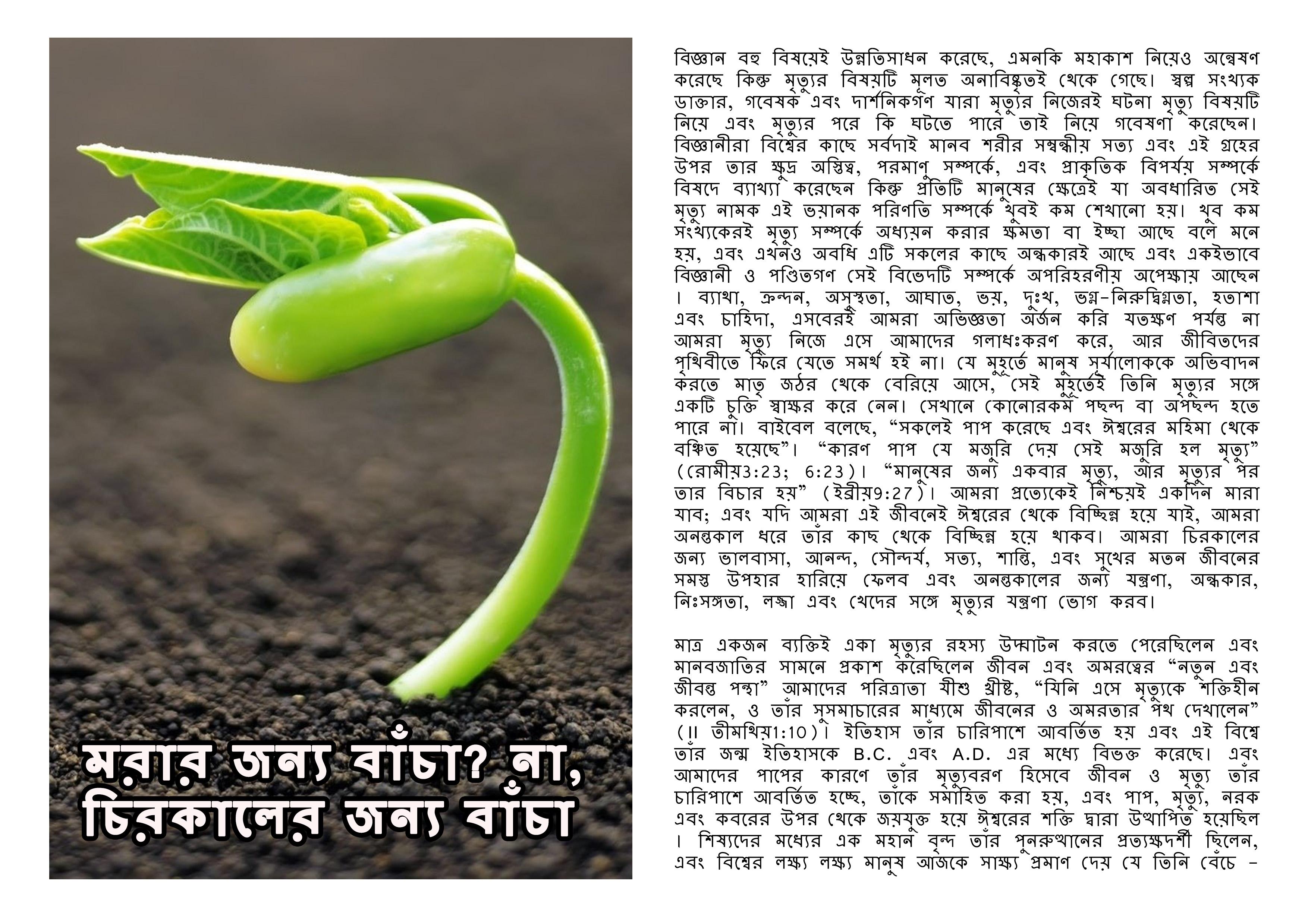 Live to die bengali