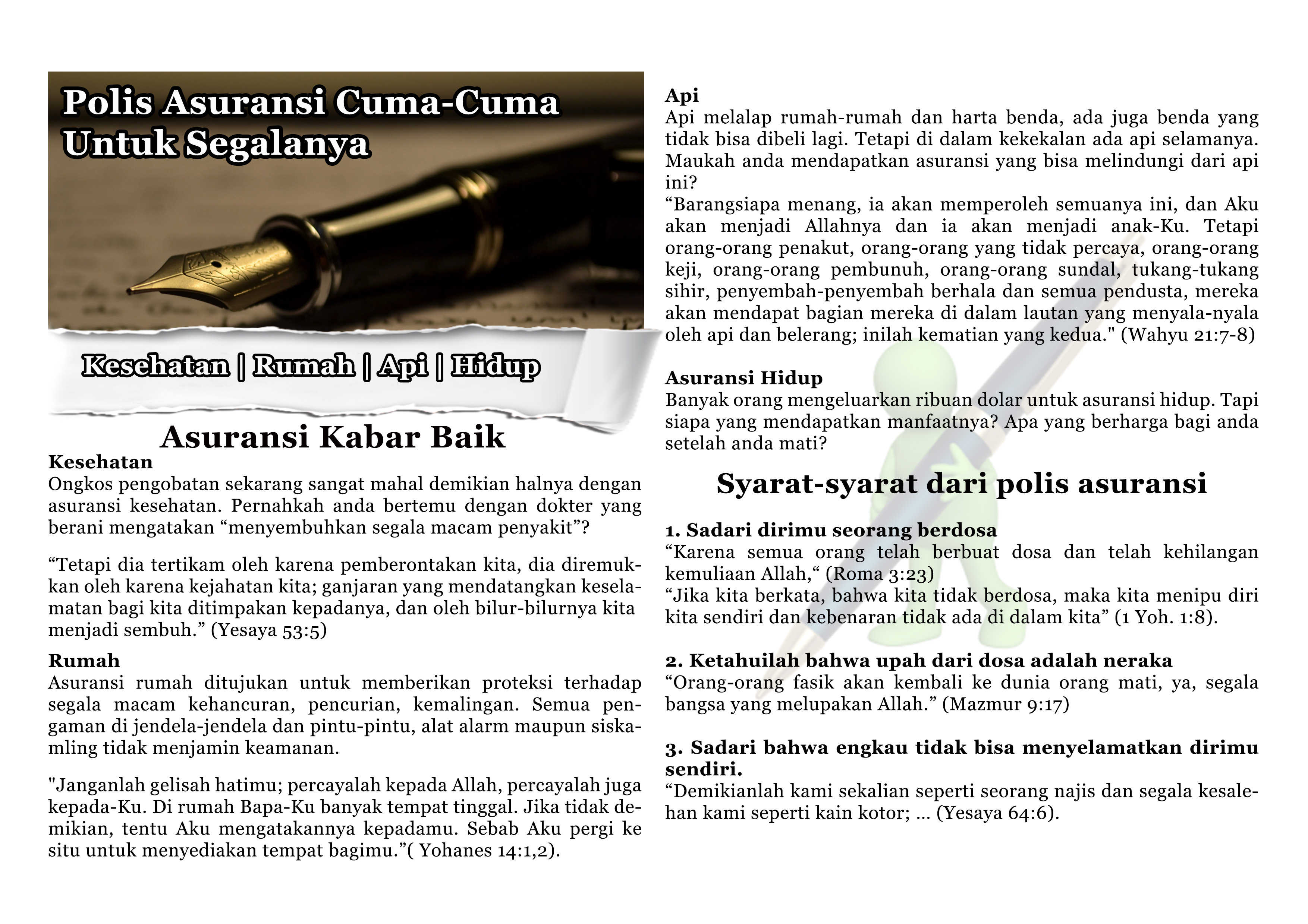 Insurance policy indo