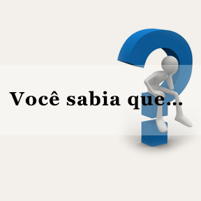 Você sabia que…(Portuguese-Do you know)