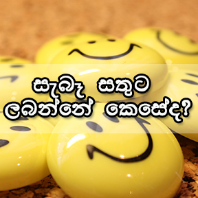 How to be really happy-Sinhala