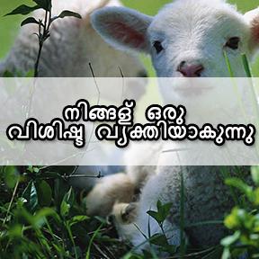 നിങ്ങള് ഒരു വിശിഷ്ട വ്യക്തിയാകുന്നു(you are someone special-Malayalam)