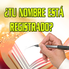 ¿TU NOMBRE ESTÁ REGISTRADO?(your name registered)