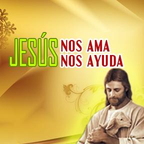 Jesús nos ama, Jesús nos ayuda(Jesus loves helps)