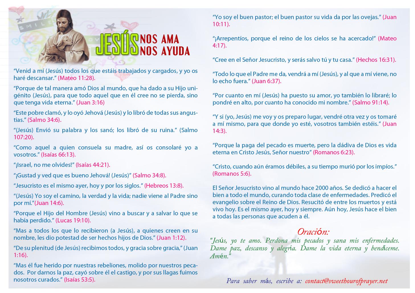 Jesus Loves Jesus HelpsSpanish