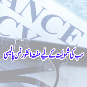 Free All inclusive Insurance Policy Urdu