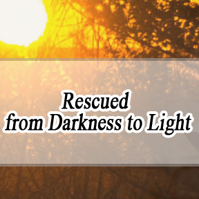 Rescued from Darkness to Light Spanish