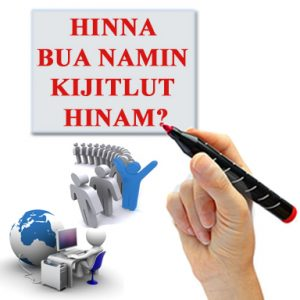 Hinna Bua Namin kijitlut Hinam? (Is your name registered?