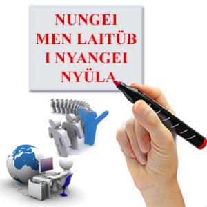 Nungei men laitüb i nyangei nyüla (Is Your Name Registered?)